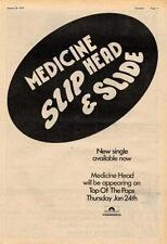 Medicine Head Slip & Slide UK TV advert 1974