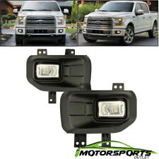 2015-2017 Ford F150 Pickup LED Replacement Bumper Driving Fog Lights Pair