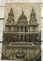 Vintage Postcard St. Paul's Cathedral London England UK