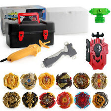 12PCS Beyblade Burst Evolution Set w/ Launcher Bayblade +Storage Box Case Gift