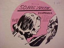 Sonic Youth Disappearer 3 track Us Dj 12""