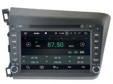 "For 2012 Honda Civic Car DVD GPS player Radio navigation System Stereo TV BT 8"""