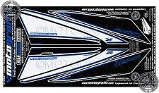 Suzuki gsxr 1000 K3 K4 arrière carénage numéro board motografix 3D gel protecteur