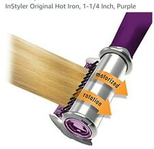 In Styler Rotating Hot Iron Hair Straightner