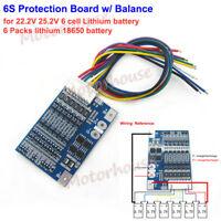 Lheng 6 String 22V24V Power Tools 18650 Dedicated Protection Board 12Pcs