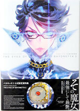 DHL/EMS The Eyes of BAYONETTA 2 Official Art Work Book Japan Nintendo Wii U Game