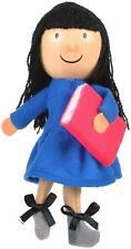 Fiesta Crafts ROALD DAHL FINGER PUPPET - MATILDA Soft Toy BN