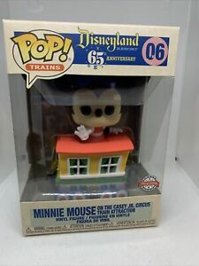 *IN HAND* FUNKO POP! DISNEY 65th MINNIE MOUSE 06 CIRCUS TRAIN SE + Protector