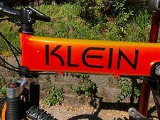 KLEIN Mantra Race XL  KOI ORANGE Bike Deore XT/XTR Thompson