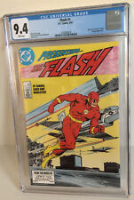 Flash #1 New Teen Titans Vandal Savage Appearance DC Comic 1987 CGC 9.4