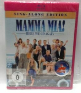 Blu-ray - Mamma Mia! - Here we go again - FSK 0