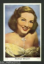 1960's Dutch Gum Card K Large #16 KATHRYN GRAYSON Anchors Aweigh SHOW BOAT