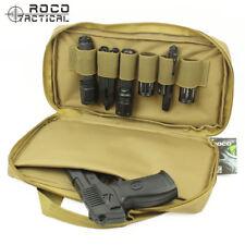 Tactical Pistol Bag Magazine Pouch Storage Case Black Airsoft Gun Storage CP ACU