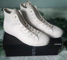 Brand New Converse Chuck Taylor All Star II 2 White Leather HighTop Size UK 11