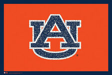Auburn Tigers Football WAR EAGLE! Fight Song NCAA Logo WALL POSTER