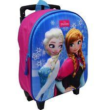 Disney Frozen Trolley Rucksack Kindertrolley Koffer Mädchen Eiskönigin Elsa 8637