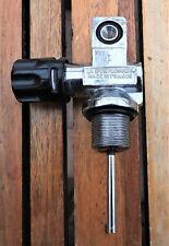 Vintage scuba diving cylinder valve, La Spirotechnique