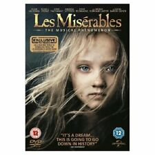 Les Miserables DVD New & Sealed + FREE Download