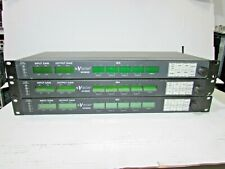 LOT OF 3 NVISION AUDIO CONTROL UNIT NV9056