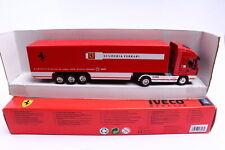 New-Ray Werbemodell Iveco Stralis Koffer SZ Scuderia Ferrari 1:87 OVP