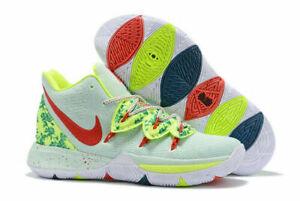 New Men's Kyrie 5 GS 'EYBL' Casual Basketball Shoes Sz 6.5Y CQ2484 300 Rare