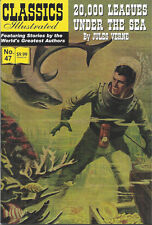 Modern Classics Illustrated Canadian Issue 20,000 Leagues Under The Sea
