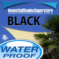WATERPROOF RECTANGLE BLACK 5mx8m 8mx5m SUN SHADE SAIL 5x8 8x5 8x5m 5x8m 5 x 8