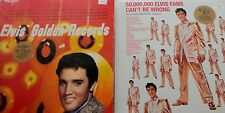 ♫ Rare ELVIS PRESLEY 2 LP Golden Records & 50 Million Fans Can't Be Wrong SEALED