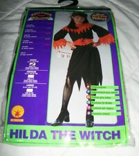 New Halloween Concepts Girl's Size 4-6 Small Hilda Witch Costume Dress Belt