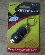 100% Brand New  Whistle Lost Car Key Finder  Keyrings Locater with LED Light MW