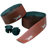 Deda Mistral Bar Tape Brown Synthetic Leather Perforated Road Tour Vintage Bike