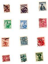 Austria Postage Stamps Rare Lot Of 12