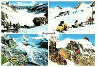 Greetings from Jungfraujoch Top of Europe Switzerland Postcard