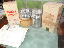 Binks 81-500 Spray Gun Cup - Choice - One is Nos, the other maybe also, not sure