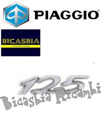 656234 - ORIGINALE PIAGGIO TARGHETTA ADESIVA BAULETTO ANTERIORE VESPA GTS 125