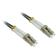 More details for 0.5m 50cm 1.5ft lc-lc 62.5/125 mmd om1 fibre optic cable - grey lszh low smoke