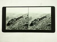 A Two Struck Shay Near the Summit of Mt. McClellan Stereoview Card