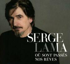 SERGE LAMA - OÙ SONT PASSES NOS REVES DIGIPAK  CD NEW+