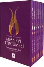 """""""MESNEVİ Tercümesi 6 cilt takım - Mevlana Celaleddin Rumi"""" Turkce Kitap"""