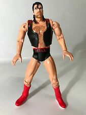 "WCW NWO Smash N Slam Wrestlers Scott Hall Wolfpac Red 6"" Figure Rare Vest Razor"
