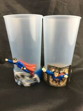2 X SUPERMAN RETURNS HUNGRY JACKS PROMOTIONAL CUPS. 2006