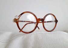 *Rare* GF Ferre GFF 37 Vintage Round EyeglassesFrame Havana Tortoise Plastic