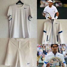 Nike Rafael Nadal Wimbledon Full Set L Shirt Short Jacket Agassi Federer Court