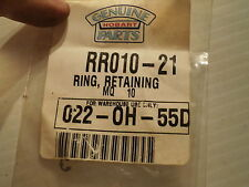 Qty = 9: Hobart Rr010-21 Retaining Ring