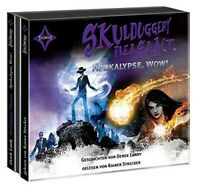 RAINER STRECKER - SKULDUGGERY PLEASANT-APOKALYPSE,WOW! 3 CD NEW
