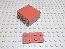 Lego 10 Platten 2x4 neubraun  3020  Set 10152 4184 9446 5378