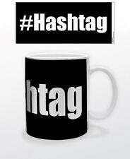 HASHTAG 11 OZ COFFEE MUG TEA CUP SOCIAL NETWORK IT MAC PC KEYBOARD FUN TWITTER!!