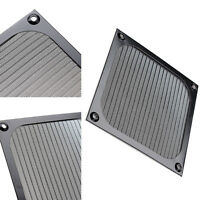 120mm Computer Cooling Fan Dustproof Dust Filter Case Aluminum Grill B Gw