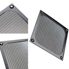 120mm Computer Fan Cooling Dustproof Dust Filter Case fr Aluminum Grill Guard FT