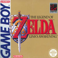 The Legend of Zelda, Link's Awakening (Nintendo Game Boy) 1993, UK version